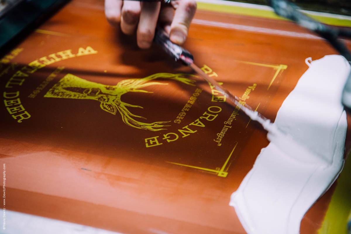 Blaze Orange Deer Huning Ambient Inks Shirt Production-3882