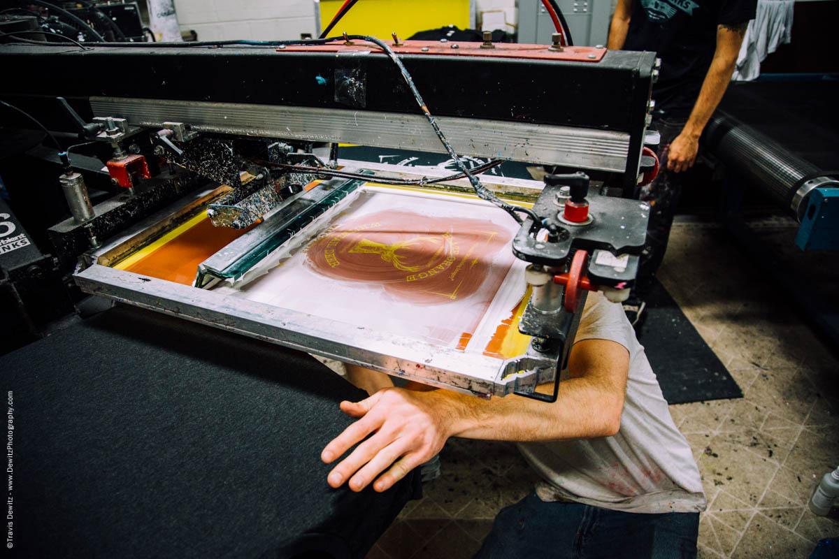 Blaze Orange Deer Huning Ambient Inks Shirt Production-3893