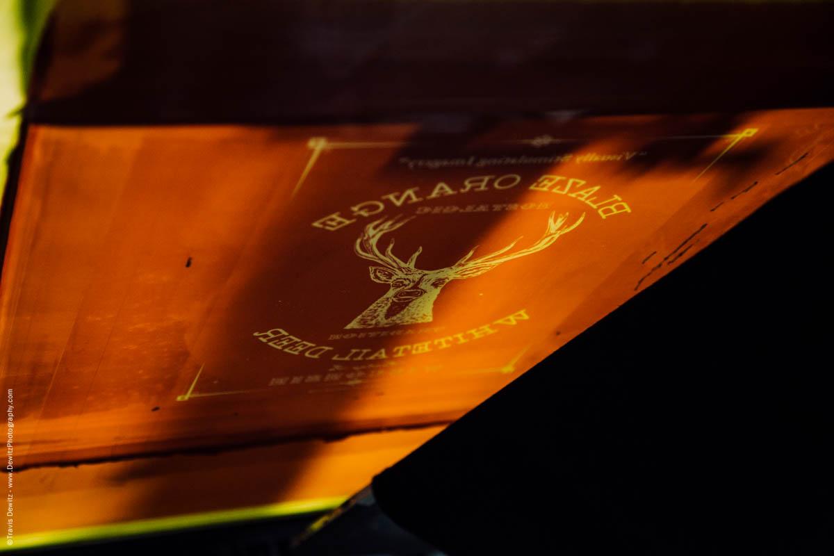 Blaze Orange Deer Huning Ambient Inks Shirt Production-3897