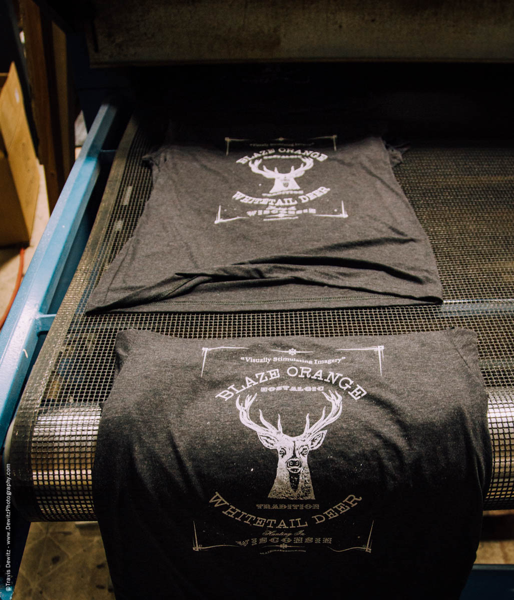 Blaze Orange Deer Huning Ambient Inks Shirt Production-3917